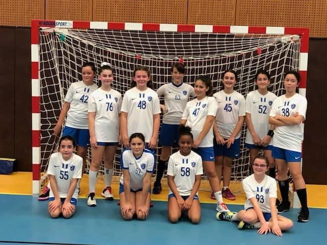 Une très jeune équipe U13F